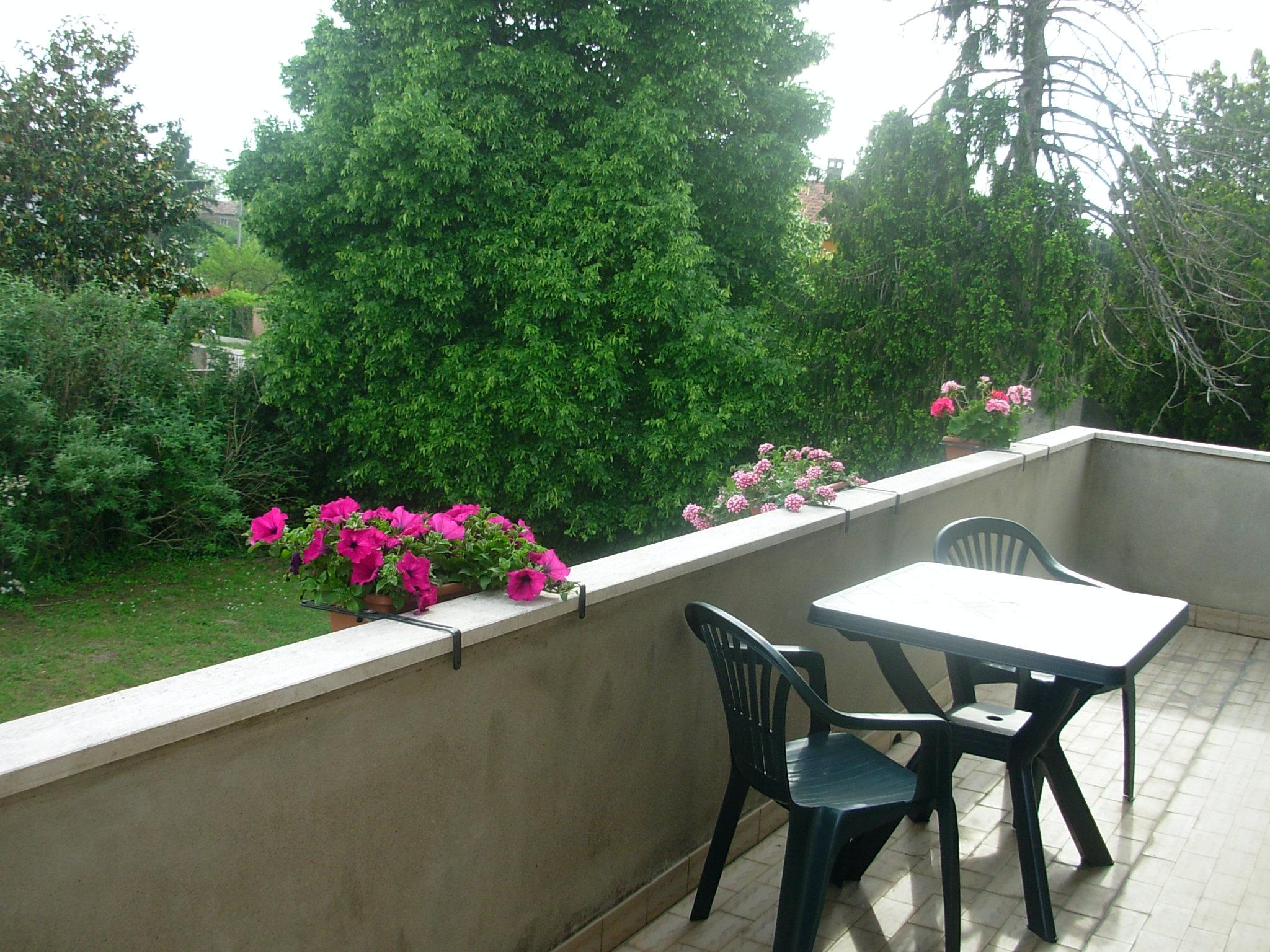 B&B Ca' Morosini_Ampio terrazzo